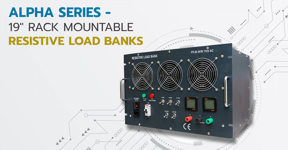 Resistive Loadbanks - Rack Mountable | Technical Specifications and Industry Applications