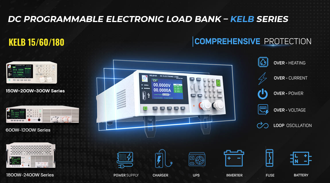 Introducing Electronic Programmable DC Load Banks from KWK